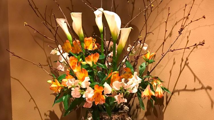 今週のお花が届きました!(2月15日)