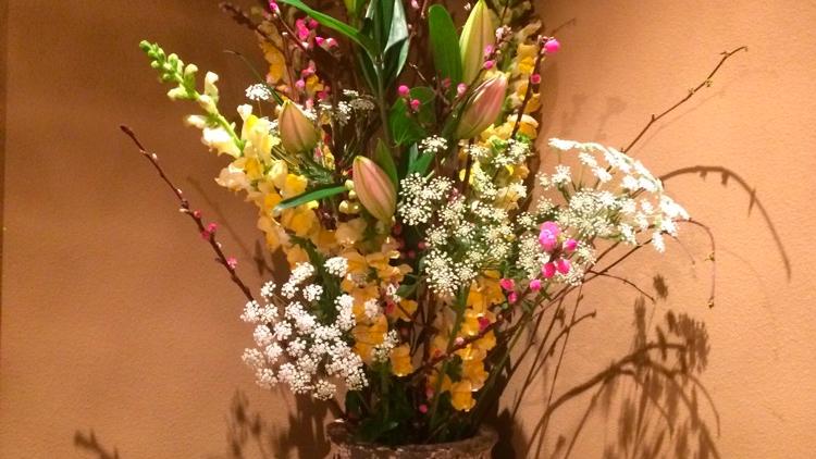 今週のお花が届きました!(2月27日)