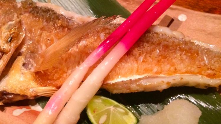 本日のおすすめ「甘鯛の塩焼き」