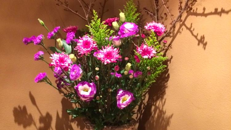 今週のお花が届きました!(3月13日)