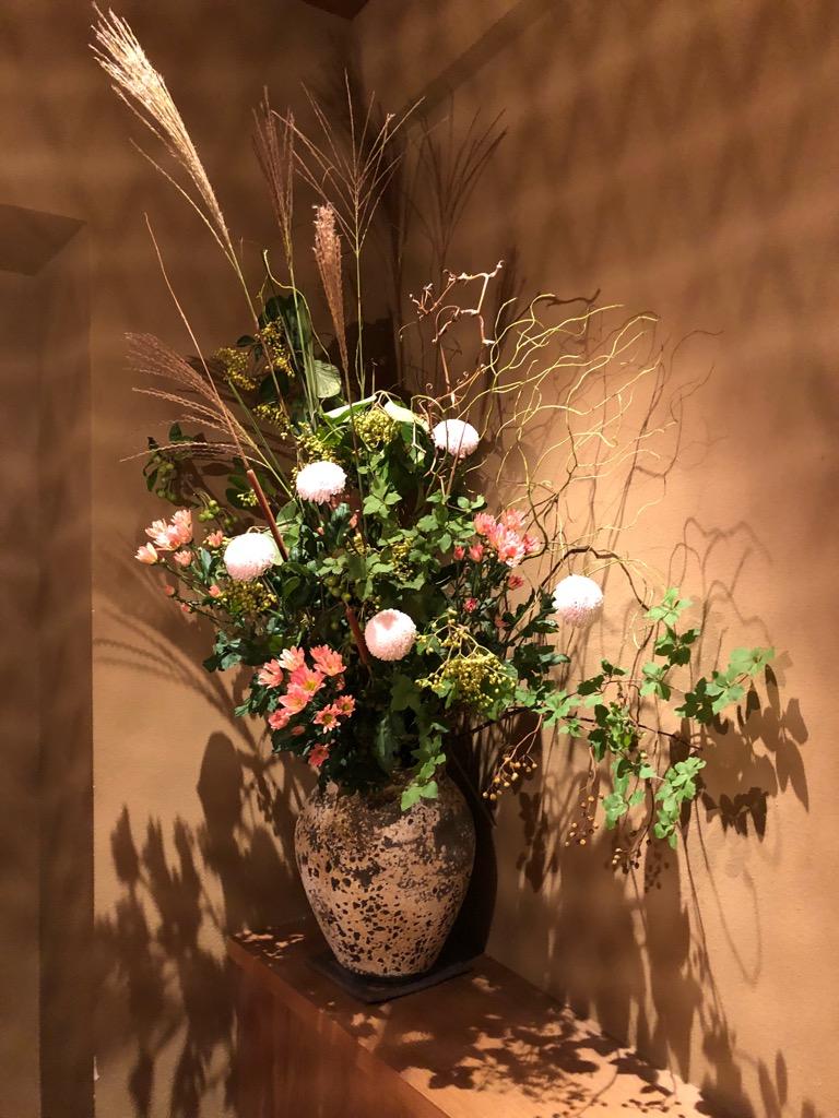 今週のお花が届きました!(9月11日)