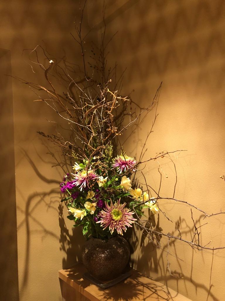 今週のお花が届きました!(11月20日)