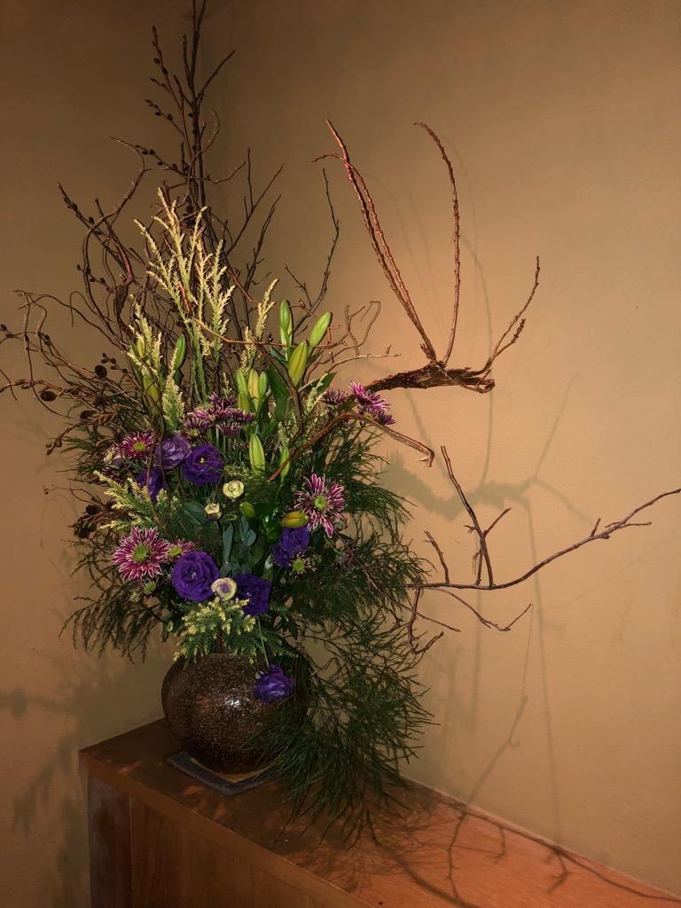 今週のお花が届きました!(11月27日)