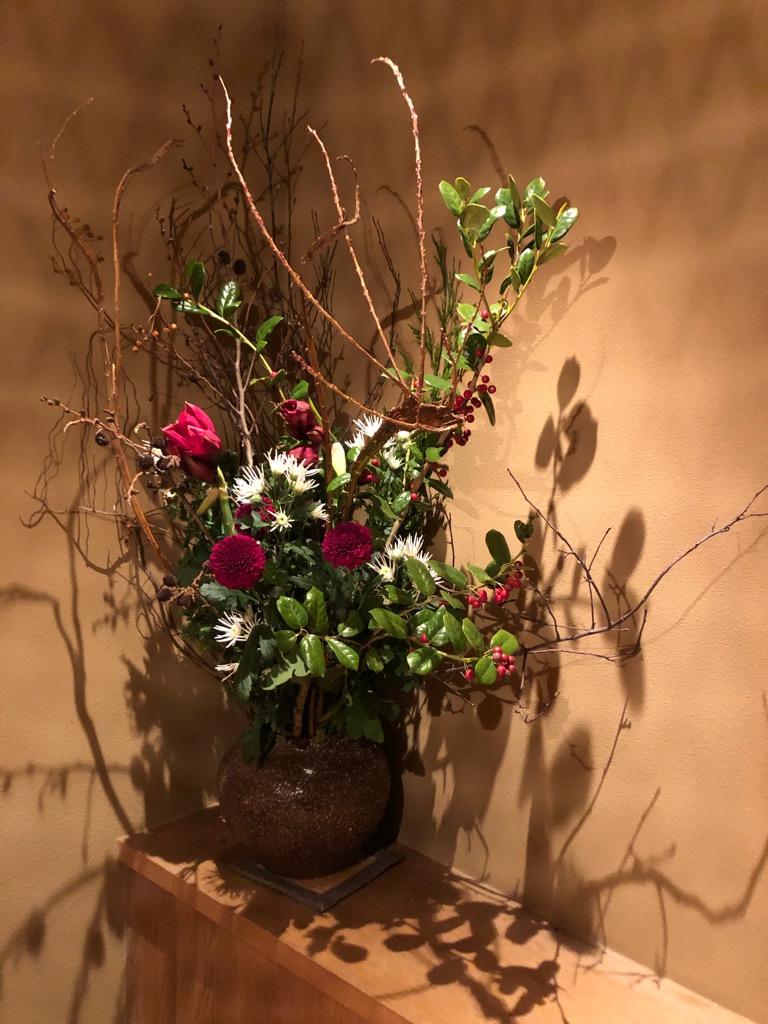 今週のお花が届きました!(12月11日)