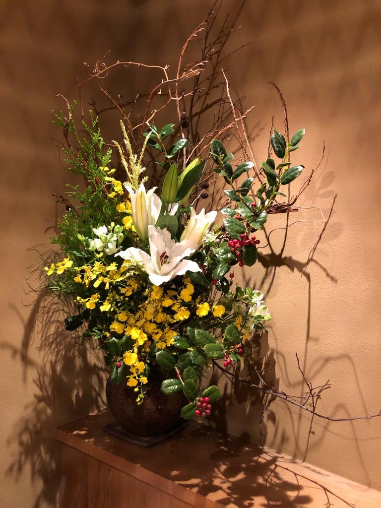 今週のお花が届きました!(12月4日)