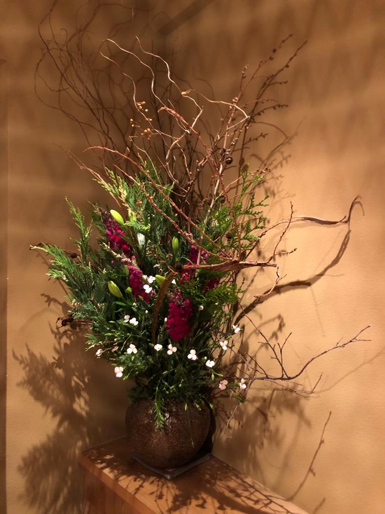 今週のお花が届きました!(12月18日)